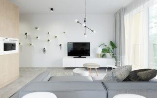 Interiér bytu Hodkovičky