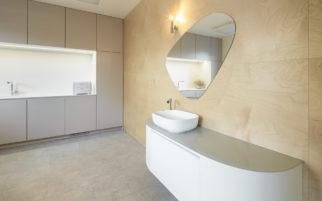 Výsledná realizace interiéru L centrum Pardubice na fotografiích