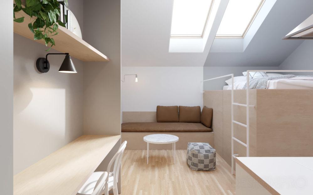 Interiér bytu Štěpánská