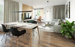 Interiér bytu U Michelského mlýna - v realizaci